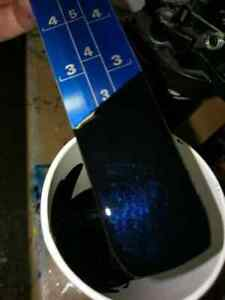 Image Is Loading Midnight Blue Black Pearl Solvent Basecoat Paint High