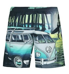 Summer-Beach-Shorts-Pants-Men-039-s-Surf-Board-Shorts-Swiming-Trunks-Swimsuit-3D