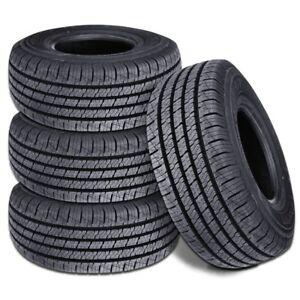 4 New Lionhart Lionclaw HT P235/60R18 102T All Season Performance Tires
