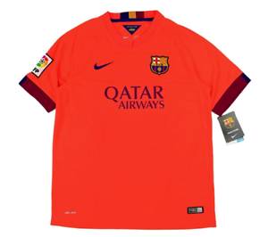 Barcelona 2014-15 Away Jersey (Small) BRAND NEW W TAGS