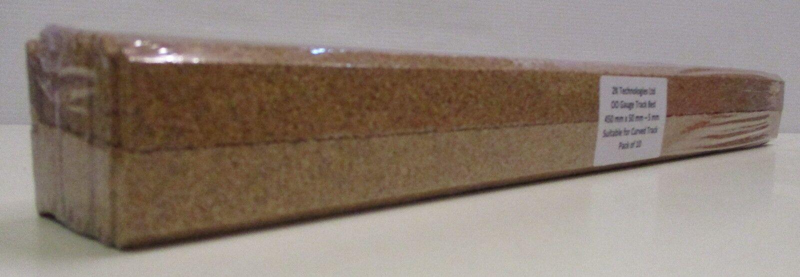 2kTB2 - 6 Confezioni - Smussati Edge Sughero Base Della Pista Sottoposto 10 x
