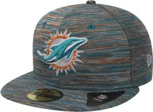 Kleidung & Accessoires EntrüCkung New Era Miami Dolphins Nfl Engineered Cap 59fifty 5950 Fitted Limited Edition Hüte & Mützen