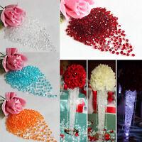 1000Pcs 4.5mm Clear Acrylic Crystals Rhinestone Wedding Party Festive Decor New