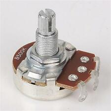 Alpha B500K Full Size 18MM Long Shaft Guitar Bass Tone Control Pot Potentiometer