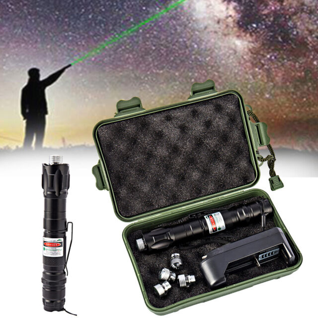 Military High Power Laser Pointer Red Green Lazer Beam Presentation Pen Cat Toy