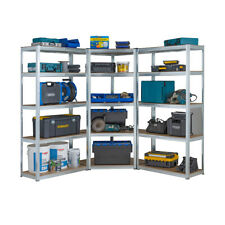 Galvanised Corner Shelvingracking Kit Garage Storage Shelves 175kg 1800mm H