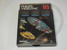 !!! PHILIPS G7000 SPIEL Videopac 18 Laser War OVP, gebraucht aber GUT !!!