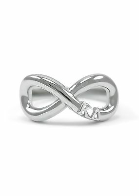 Kappa Delta Sterling Silver Infinity Ring / Sorority Jewelry / Sorority Rings