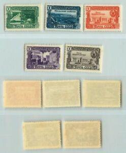 La-Russie-URSS-1949-SC-1420-1424-Z-1384-1388-neuf-sans-charniere-e3909
