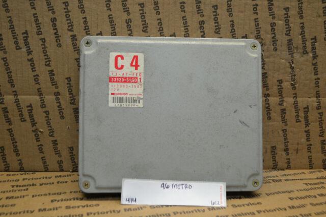 1996 Geo Metro Engine Control Unit Ecu 3392051gd1 Module