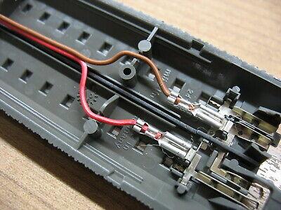 Trix H0    10 x Anschlußkabel passend für  C-Gleis   0,25 mm 200 cm Märklin