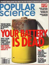 Popular Science October 2004 Your Battery is Dead VG 041816DBE
