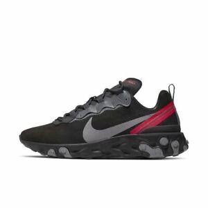 Nike-reagissent-Element-55-Off-Noir-Gunsmoke-noir-CQ6366-001-UK-8-8-5-9