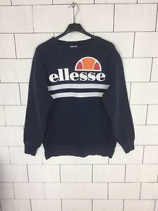 Sweater Overhead Sweater Retro Ellesse Vintage Urban Crew medium Voor Bold mannen qwZpEp