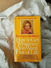 How to Get Whatever You Want Out of Life, Brothers, Dr. Joyce, Good Book