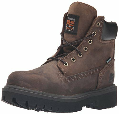 35920a13384 Timberland Pro Direct Attach 6 Steel Toe 38021 Waterproof Insulated Boot  Brown Brown Medium 15