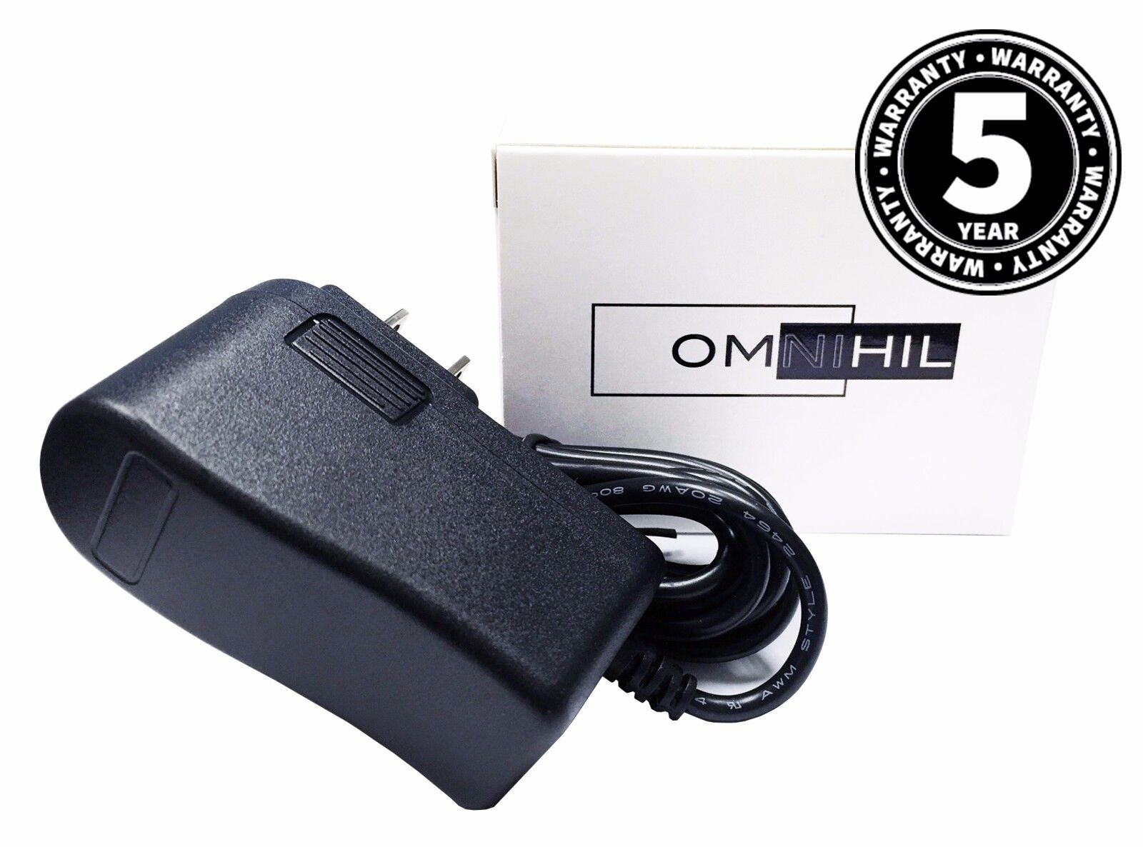 OMNIHIL (8FT) AC 9V Power Supply for Schwinn 220 Recumbent Exercise Bike