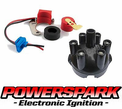 Ultimate 22D6 Electronic Ignition kit distributor cap rotor arm fits Triumph MGC
