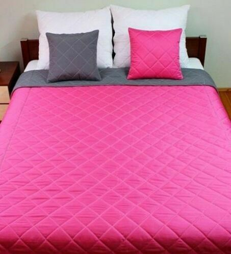 Deal 3in1 Modern Overspread   Bedspread   Bed cover DUVET 2 pillows REVERSIBLE