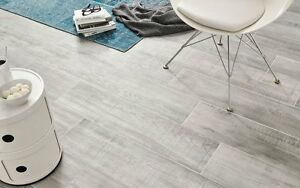 Piastrelle Effetto Legno Grigio : 19.99 m2 porcelain tiles grey wood effect 120x20 wall floor kitchen