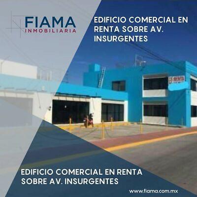EDIFICIO COMERCIAL EN RENTA EN AV. INSURGENTES (M) $35,000 MÁS IMPUESTOS