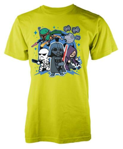 Star Wars Darkside Cartoon Characters Kids T Shirt