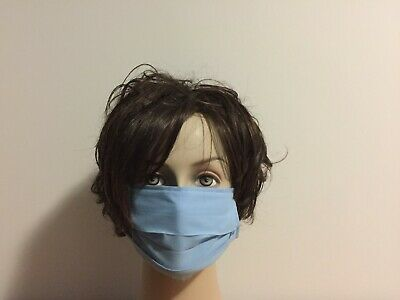 Fabric Face Mask 3 Cotton Layers Made In Australia Ebay