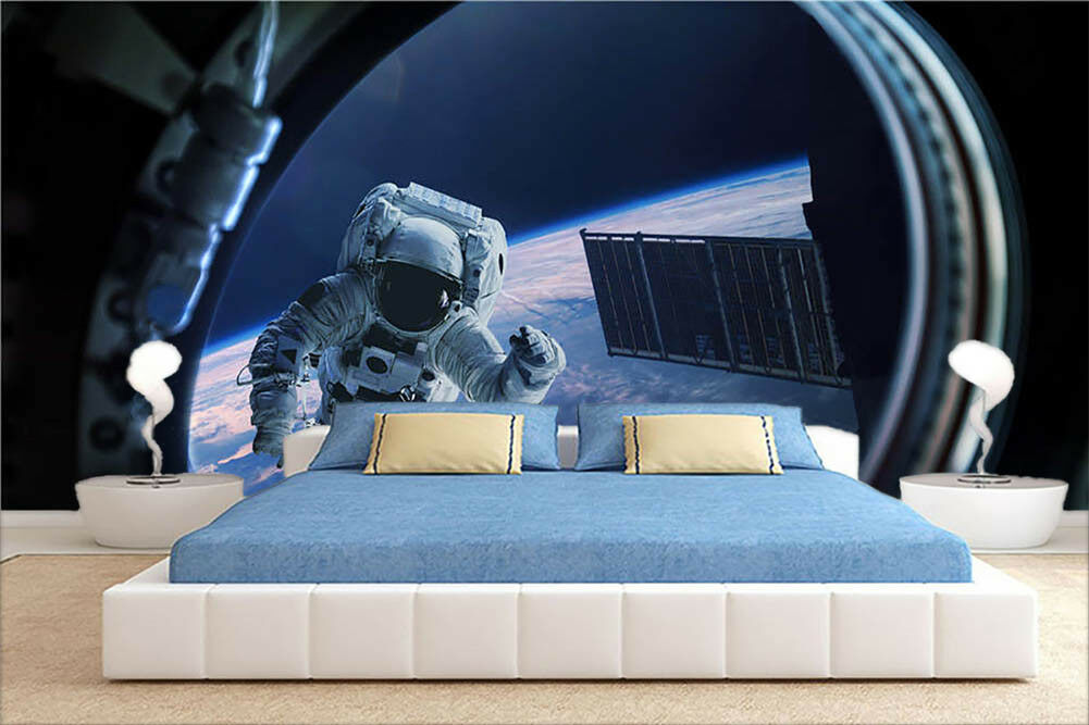 Explore Outer Space  3D Full Wall Mural Photo Wallpaper Printing Home Kids Decor
