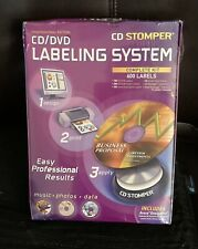 Cd Stomper Professional Edition Cddvd Labeling System 600 Labels Newsealed