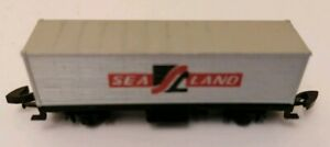 Marklin-Mini-Club-Z-Gauge-8616-Container-Wagon-Sea-Land