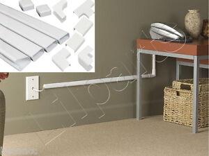 wall conduit channel plastic wire molding raceway cable wiremold rh ebay com au