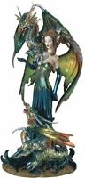 Fairy Collection Pixie With Dragon Fantasy Figurine Figure Decoration, New, Free on Sale