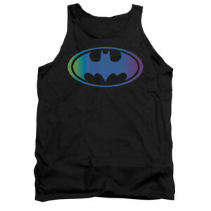 BATMAN-GRADIENT-BAT-LOGO-Licensed-Men-039-s-Graphic-Tank-Top-Sleeveless-Tee-SM-2XL