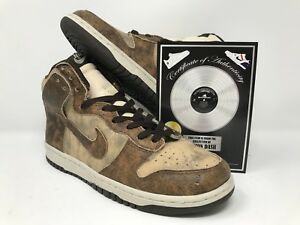 buy popular e17bd 7588d Image is loading Damon-Dame-Dash-ShoeZeum-Nike-Dunk-High-2003-