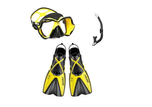 Mares X-One Schnorchelset Gelb