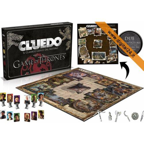 Cluedo Trono di Spade Gioco da tavola Versione Italiana Game of Thrones