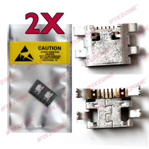Details about 2 X New Micro USB Charging Sync Port Charger For Metro PCS LG  K20 Plus MP260 USA