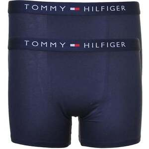 3a80e1f7c9 Tommy Hilfiger Boys 2 Pack Icon Cotton Stretch Boxer Brief, Trunk ...