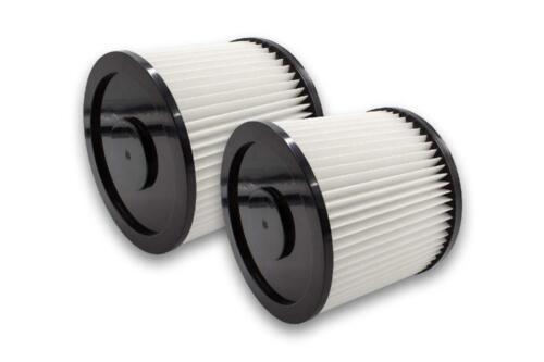 2x circa-FILTRO lamelle Filtro per Aldi Workzone bagnato e Aspiratore a secco