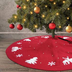 Christmas-Tree-Skirt-Red-Rug-Christmas-Ornaments-Holiday-Skirts-For-Home-Party