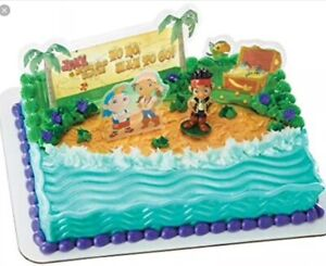 Strange Jake The Neverland Pirates Cake Topper Decopac Factory Sealed Ebay Funny Birthday Cards Online Inifodamsfinfo