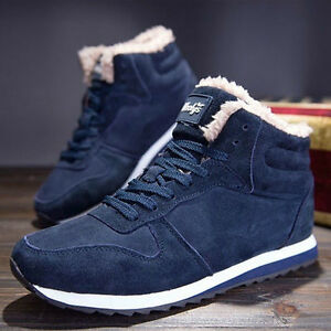 086b20b5100 Details about Men Women Winter Snow Boots Plush Outdoor Work Shoes Warm  Boots Fashion