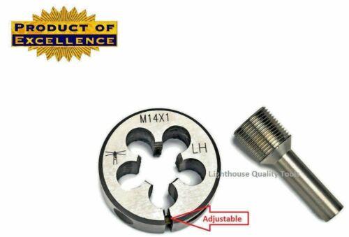 Lighthouse Tools® Adjustable Die M14X1 LH Thread alignment Tool 7.62 cal