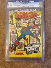 The Amazing Spider-Man #121 (Jun 1973, Marvel) CGC 4.5