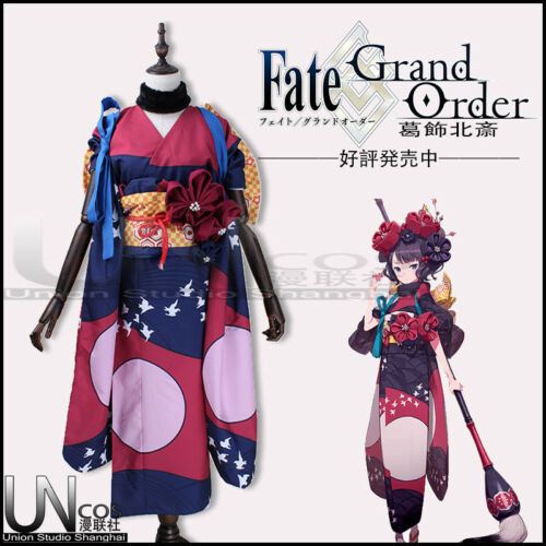 Details about  /Fate//Grand Order Foreigner Katsushika Hokusai  Cosplay Costume Customize