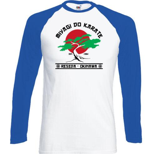 Karate Kid T-Shirt Mens Mr Miyagi Dojo Top Mr Cobra Kai Karate MMA Training Gym