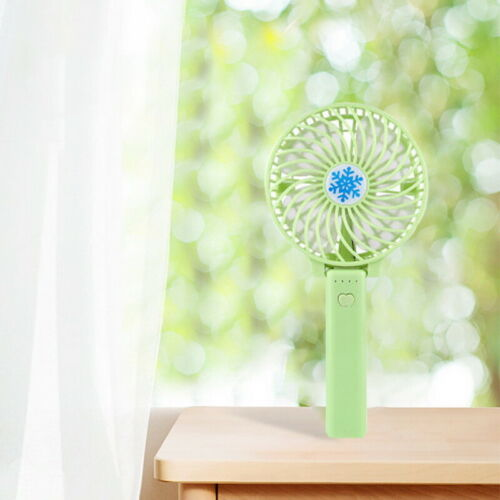 Mini Portable Hand-held Desk Fan Rechargeable Cooling USB Air Cooler Conditioner