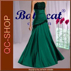 Abendkleid Ballkleid Partykleid Kleid Grun Schwarz Spitze Sofort Li A253gr 36 Ebay