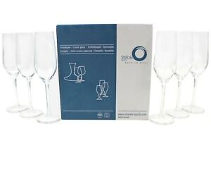 6-STOLZLE-Sekt-Glaeser-Kristall-Glas-Kelch-Prosecco-Lorenz-amp-Dahlberg-mn752-1115