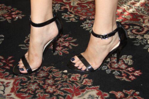 9 taille de Madden Steve Blk 5 Patent Sandal Real 2EIDH9